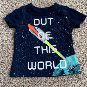 Oshkosh out of this world space shirt 6 months